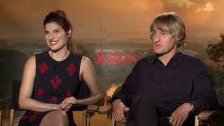Owen Wilson & Lake Bell on the Dangers of Filming NO ESCAPE