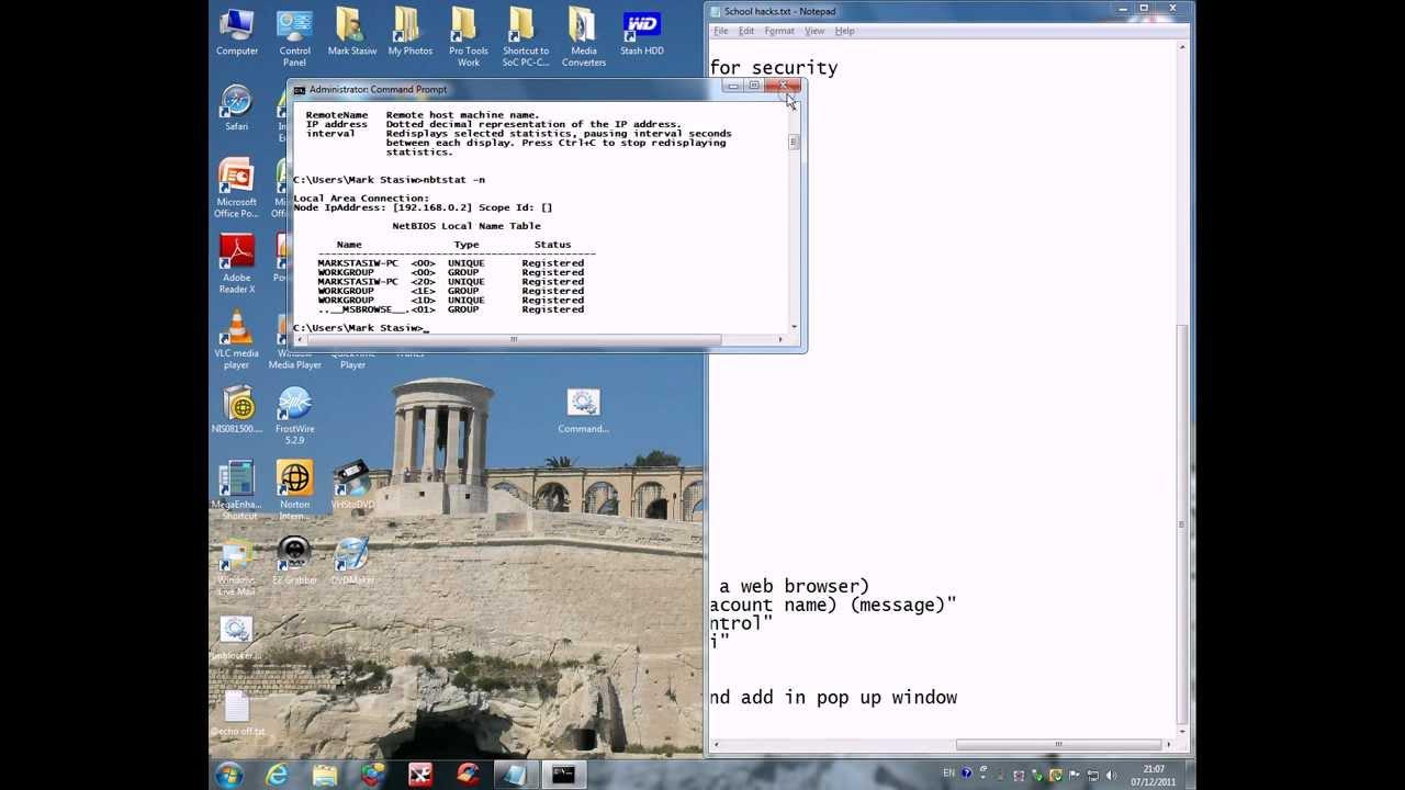 Hack Your School Computer Mainframe!