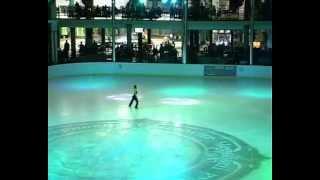 Акробатика на льду. Юлия Конюк