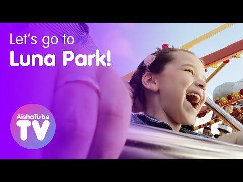 Theme park fun at LUNA PARK Sydney!