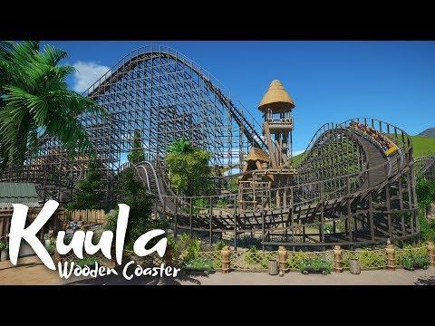Planet Coaster - Koali Beach - Ku'ula (Wooden Coaster)