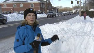 Suffolk County Digging Out After Getting 17 Inches Of Snow