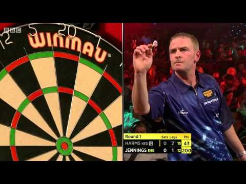Lakeside BDO World Darts Championships 2014 Round 1 Wesley Harms v Paul Jennings