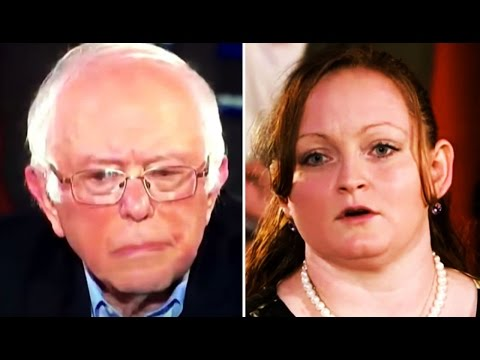 Bernie Sanders' CNN Town Hall: WV Woman Explains Being Born Into Rural, Generational Poverty