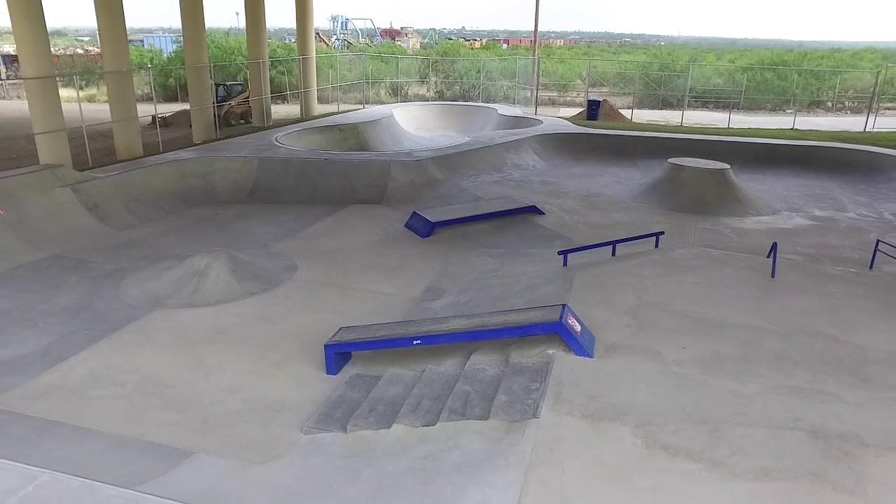 Bluebonnet Skatepark Flyover in Eagle Pass Texas