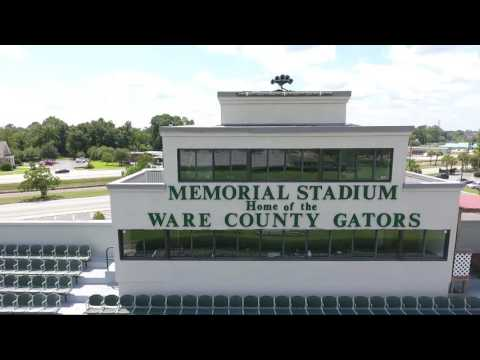 MEMORIAL STADIUM  located in Waycross, GA
