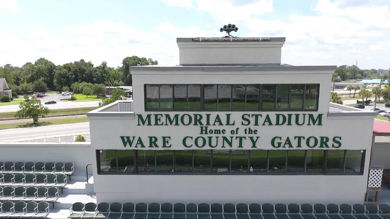 Memorial Stadium Located In Waycross Ga Youtube