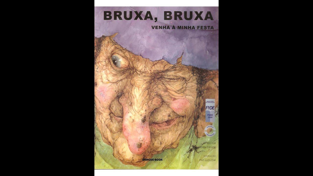 """Hora da leitura com Raízes Brasileiras - Leitura de """"Bruxa, bruxa, venha à minha festa"""""""