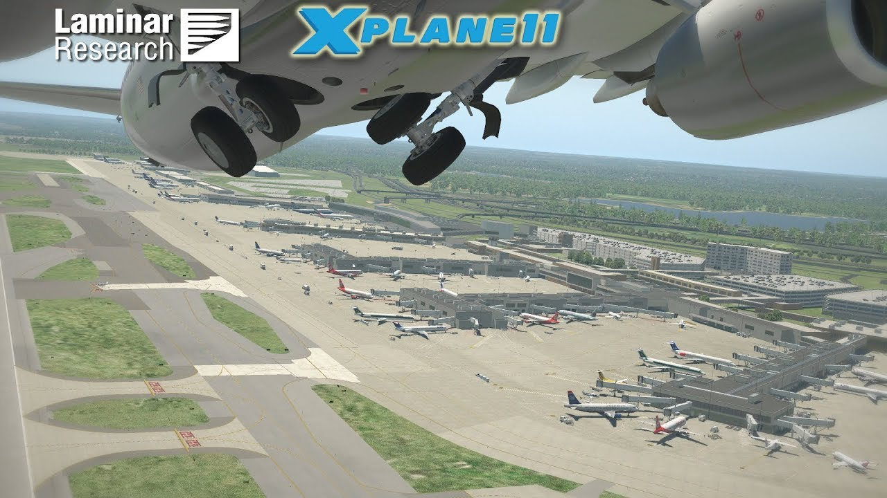 Laminar Research - In Recognition of 10,000 3D Gateway Airports
