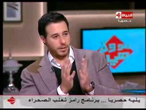 هو ولاهي - أحمد السعدنى: أبويا فى يوم فرحى سابنى وخرج مع أستاذ محمود سعد - كان فرح غريب جدا