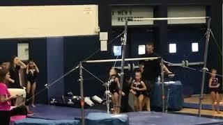Emma rester first ever gymnastics meet