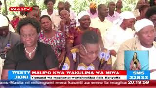 Boni Khalwale achambuana na Seneta Cleophas Malala hadharani