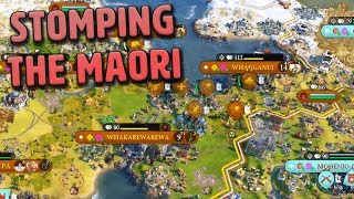Stomping the Maori (with a new UI mod) - Pachacuti [#14] - Civilization VI Gathering Storm