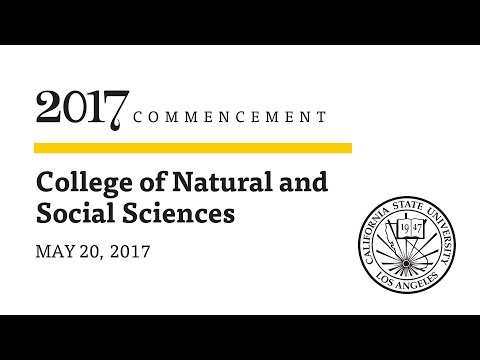 Ceremony 1  ǀ  8 a.m.   ǀ  College of Natural and Social Sciences