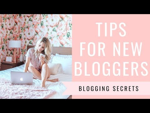 TIPS FOR NEW BLOGGERS From A Full-Time Blogger   Blogging & Social Media Tips   Joëlle Anello