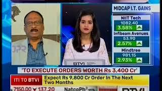 ITI Limited, CMD Shri K Alagesan Interview with BTVI - ITI Bags RajNet Order