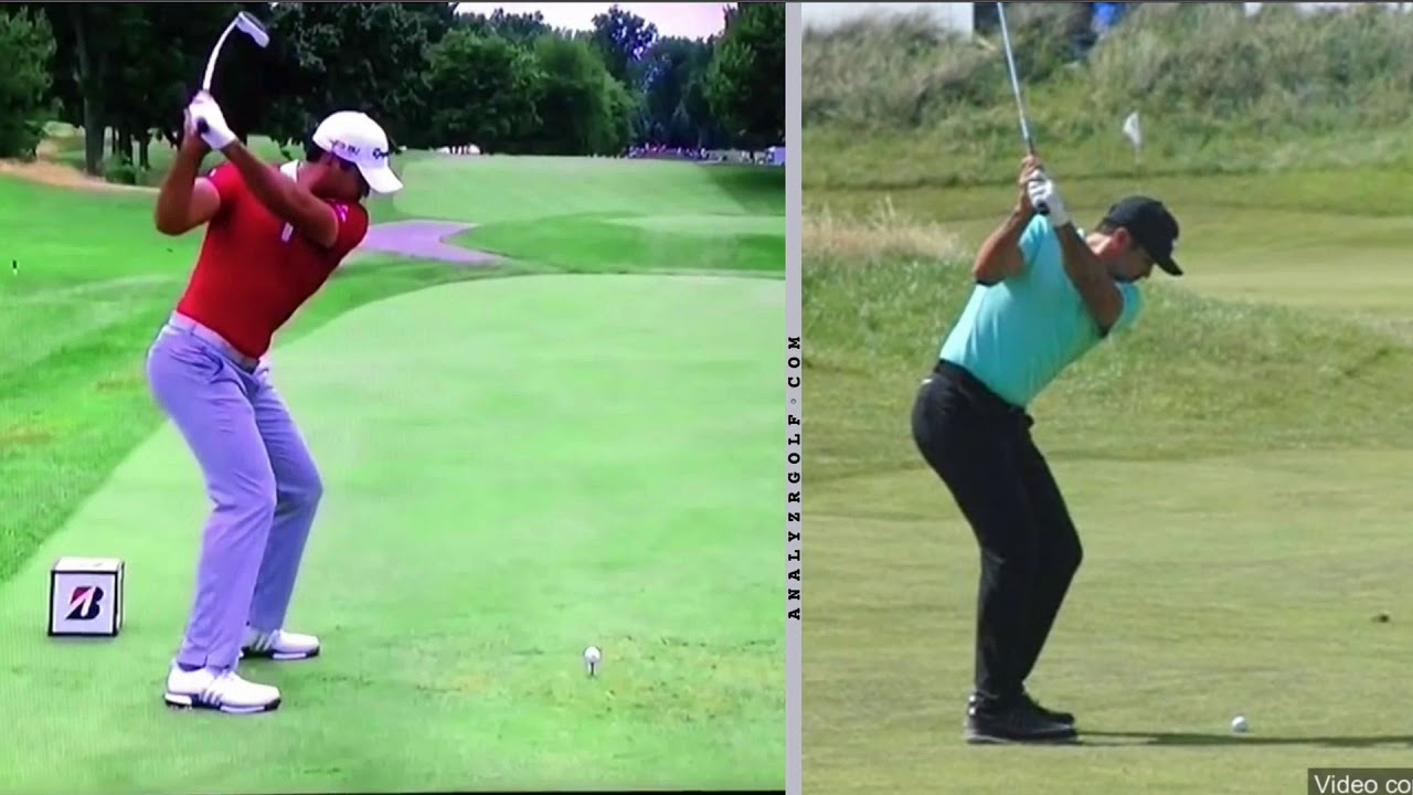 Jason Day Slow Motion Driver And Wedge Analysis