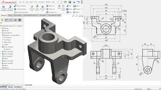 SolidWorks Tutorial for beginners Exercise 53