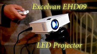 Excelvan EHD09 Mini LED Projector - Gearbest.com