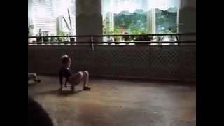 Показательный урок в хореографической школе