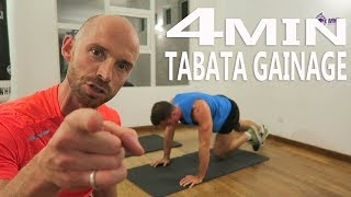 TABATA GAINAGE - comment perdre du gras rapidement - Websérie FITNESS TRANSFORMATION by MYF (77/90)