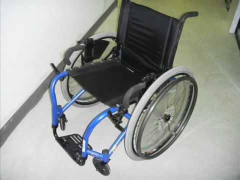 Silla de ruedas titanio ultra ligera y rresistente youtube - Ruedas para sillas de ruedas ...