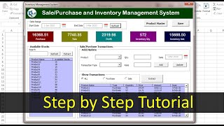Inventory Management form in Excel | Step by step complete tutorial screenshot 5