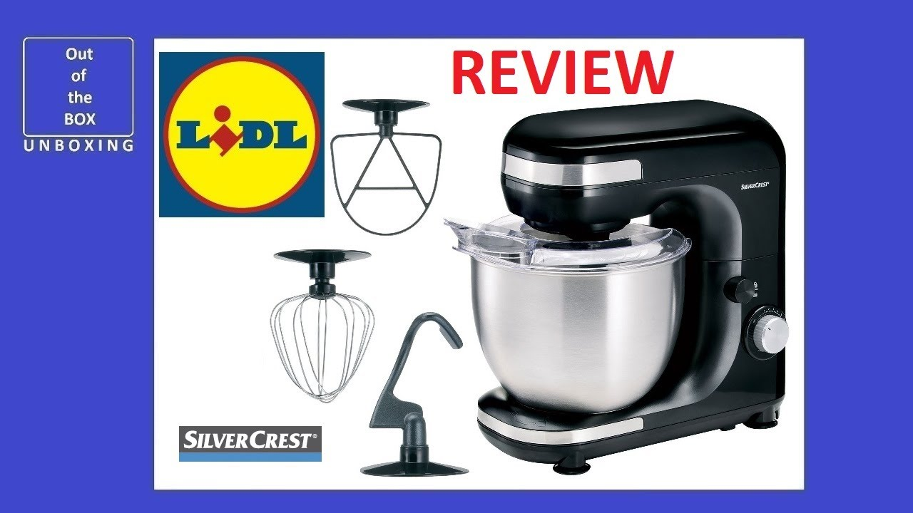 Silvercrest Stand Mixer Robot Multifonction Skm 600 A1 Review