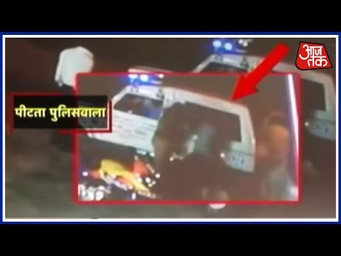 Two Cops Beat Youths In Noida During Night Patrol