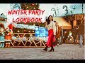 PARTY OUTFIT IDEAS/ NYE OUTFIT IDEAS/ WINTER PARTY LOOKS
