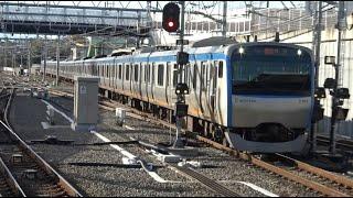 JR相鉄直通線の起点駅の西谷駅でも通過してしまう相鉄本線上り急行11000系