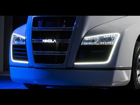 Nikola Motor Company - Nikola One Semi Electric Truck Unveiling - Official Video
