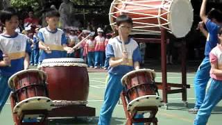 2012壽山國小太鼓隊表演  陳忠平