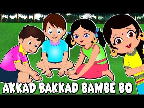 Gujarati Balgeet Video      Akkad Bakkad Bambe Bo  Gujarati Toddler Songs