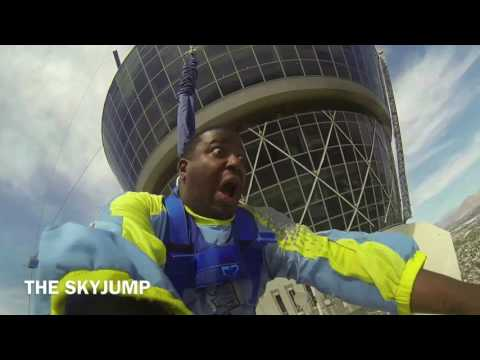 Stratosphere SkyJump-Las Vegas (Scared As Hell)