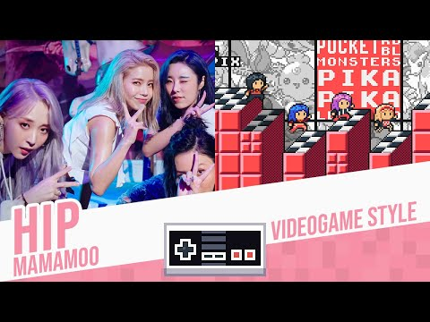 HIP, MAMAMOO - Videogame Style