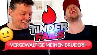 BITTE VERGEWALTIGE MEINEN BRUDER! 😳😰 Tinder Fails mit unserem Vater!