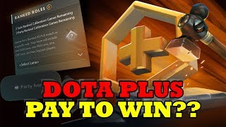 Dota Plus is now so good its effectively pay to win - or is it?