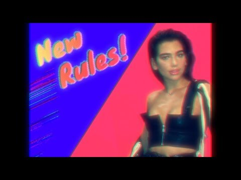 Dua Lipa  New Rules Initial Talk 80s Rules Remix @initialtalk