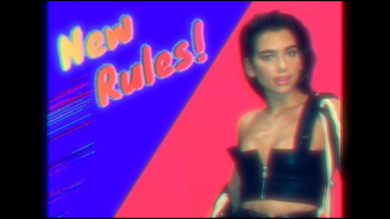 Dua lipa new rules initial talk 80s rules remix Best 80s house remixes