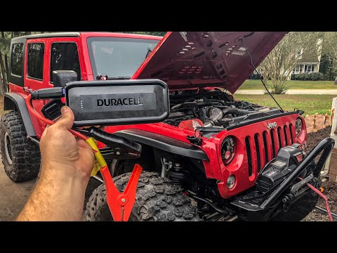 Portable Jump Starter - Duracell Review and Test