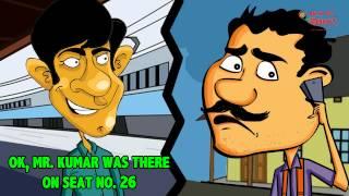 RJ Naved in 'Murga and Train ka Toilet'