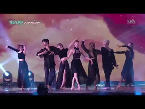 SBS GAYO DAEJUN 2016 OPENING ( BALLET + MODERN DANCE + STREET DANCE )