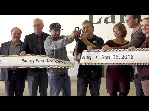 Lakeland officially opens Energy Park Site