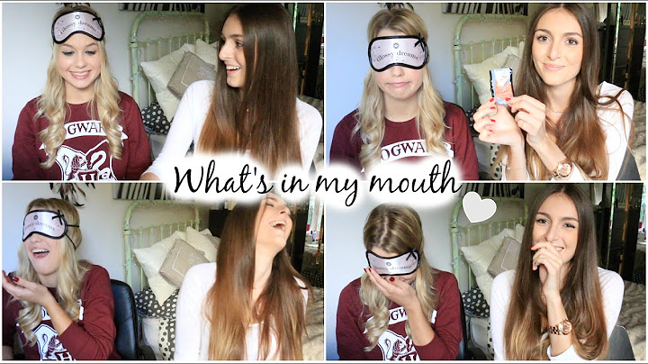 tag n47   whats in my mouth challenge