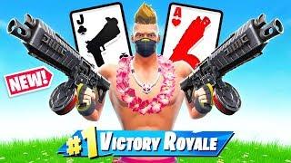 Jeu de cartes DRUM SHOTGUN 21 dans Fortnite Battle Royale