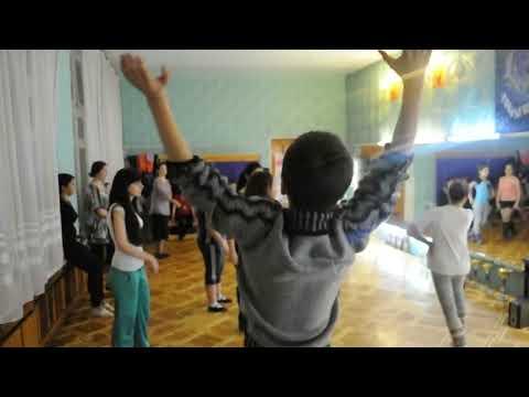 Студия ИМЕДИ. Грузинские танцы. Запорожье.AVI