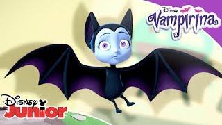 🦇 5 najnietoperzastych przygód! | Vampirina | Disney Junior Polska