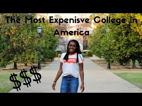 I TOURED THE MOST EXPENSIVE COLLEGE IN AMERICA | HMC WiSTEM 2018