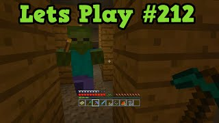 Minecraft Xbox 360 TU20 Lets Play #212 - ZOMBIE WITH A TORCH